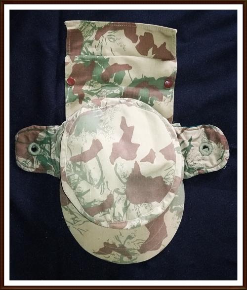 999ac6db14f Headgear - KOEVOET STF Angola   Bushwar Camo Cap with Day Glo Inner ...