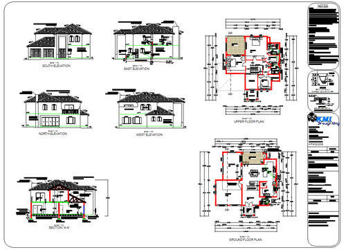 Double Story Modern House Plans - Home Design Ideas