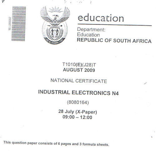 other textbooks educational industrial electronics n4 question rh bidorbuy co za