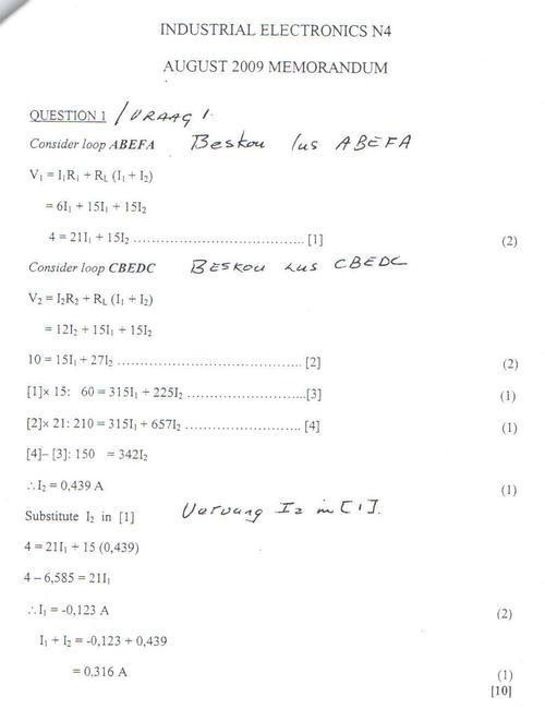 study guide n4 industrial electronics open source user manual u2022 rh dramatic varieties com Industrial Electronic Equipment Industrial Electronics N1 Exam