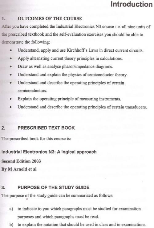study guide n4 industrial electronics open source user manual u2022 rh dramatic varieties com Industrial Electronics Logos Industrial Electronics Jobs