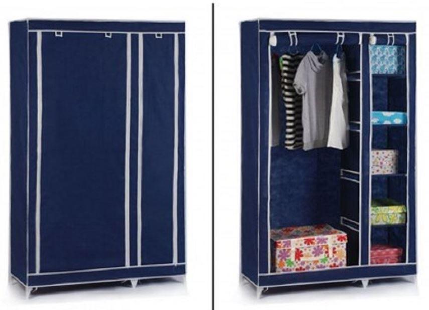 zip up wardrobe. double zip up wardrobe e