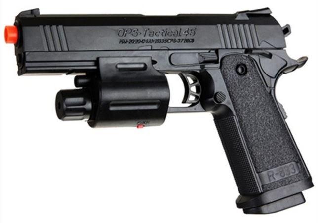 BB Guns - OPS Tactical 45 cal Spring Airsoft Pistol BB Gun