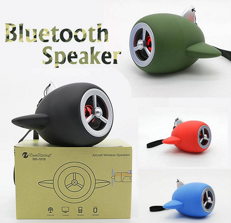 Speakers - Aircraft Propeller Bluetooth Speaker with Automatic