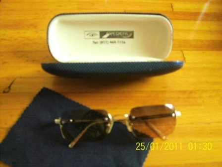 632e98b1e199 Emporio Armani 163 - S Beige Lens & Gold Frame Sunglasses. Ladies Aviator