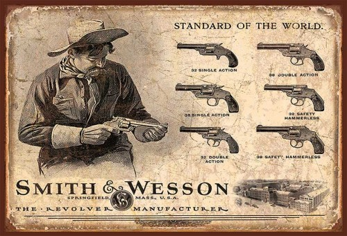 Smith & Wesson Revolvers - Magnet