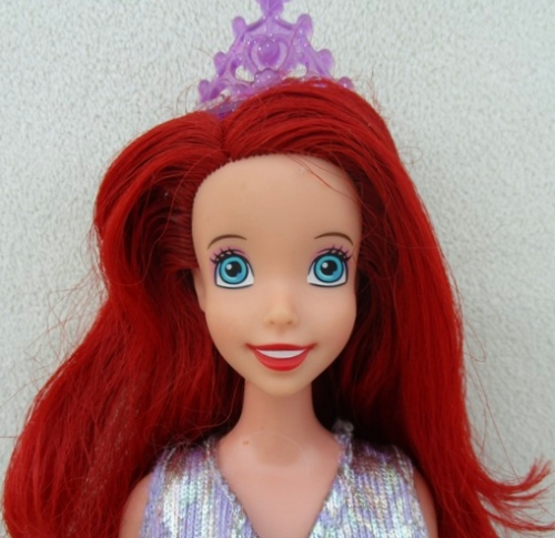 Princess Ariel Hairstyle