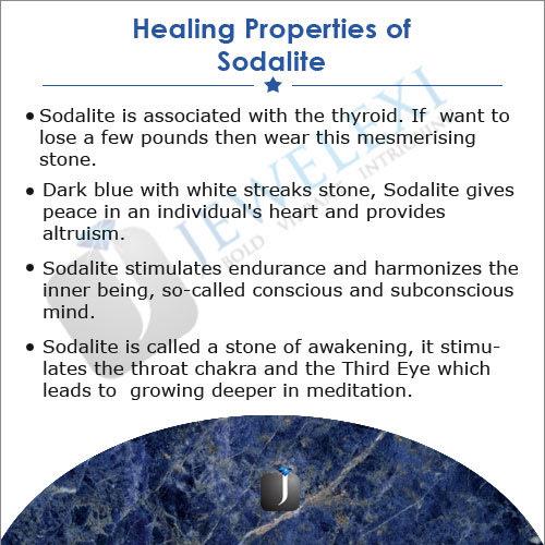 Necklaces & Pendants - 100% Genuine Sodalite pendant water