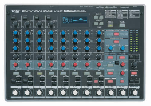 computer audio edirol roland m16dx usb music mixer pc controller production studio with. Black Bedroom Furniture Sets. Home Design Ideas
