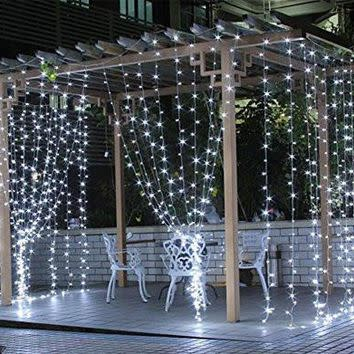 Fairy Lights Battery Operated Led Curtain Fairy Lights
