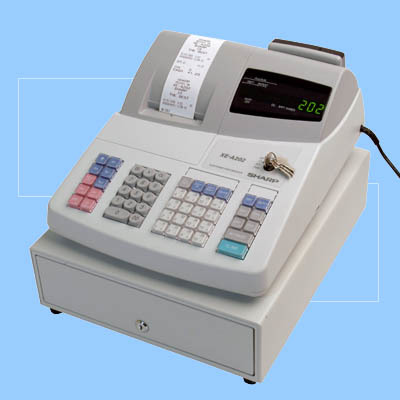 Calculators sharp xe a202 electronic cash register was sold for r1 product description fandeluxe Image collections