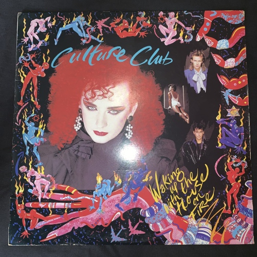Culture Club - Waking Up With The House On Fire (LP) Vinyl Record (3rd  Album)
