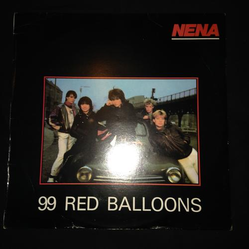 Electronica Nena 99 Red Balloons Lp Vinyl Record Was