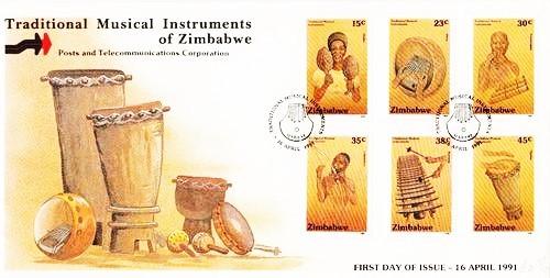 Zimbabwe Traditional Musical Instruments 1991
