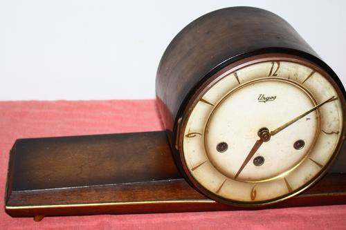 Mantel Clocks - Urgos Mantle Clock was sold for R400 00 on 5
