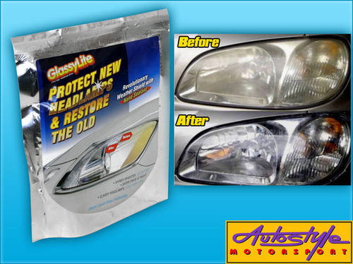 GlassyLite Headlight Restoration Kit Protect & Restore your headlights  Glassylite is trusted by pr
