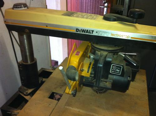 Saws Dewalt Radial Arm Saw Model 7770 Was Listed For R4