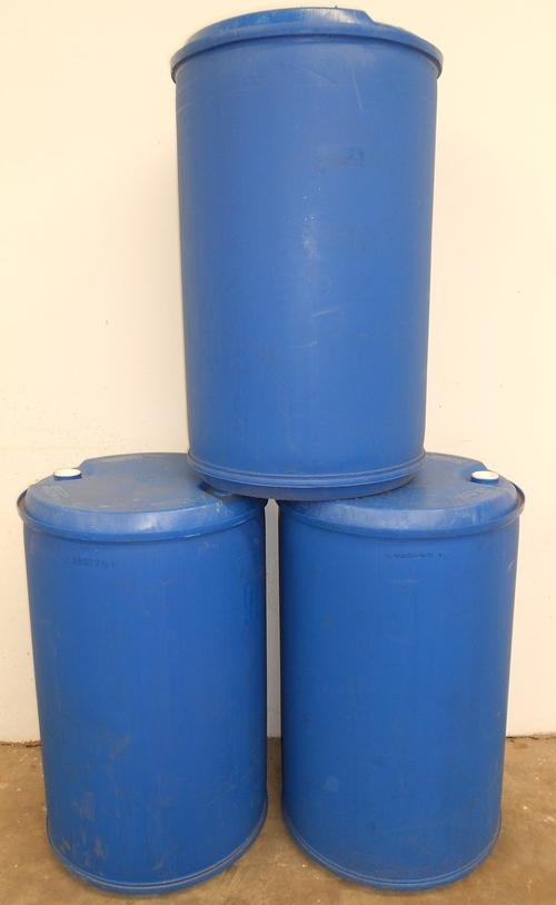 Heavy equipment trailers 210l litre plastic tanks for Container pond filter