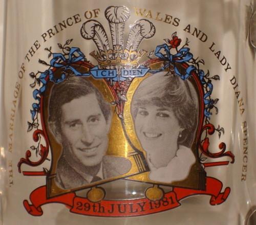 Lady Diana Wedding Glasses: Drinking Glasses & Stemware