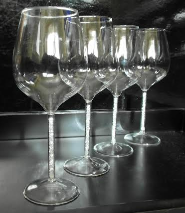 crystal stem wine glasses red wine this exquisite wine glass with crystal filled stem makes the perfect celebratory gift unique difference wine glasses crystal stem set of was sold for