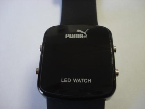 mens watches hot modern puma led mens sports wrist