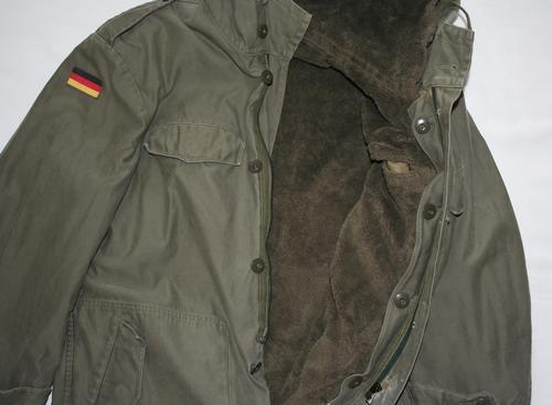 Uniforms West German Army Nato Parka Jacket 1980 S