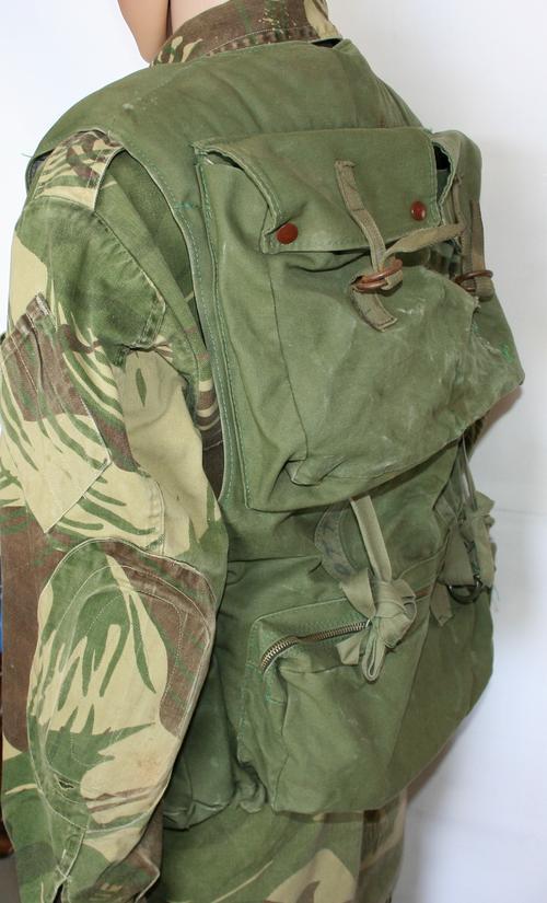 Kit Rhodesian Army Officers Vest Webbing Rhodesian