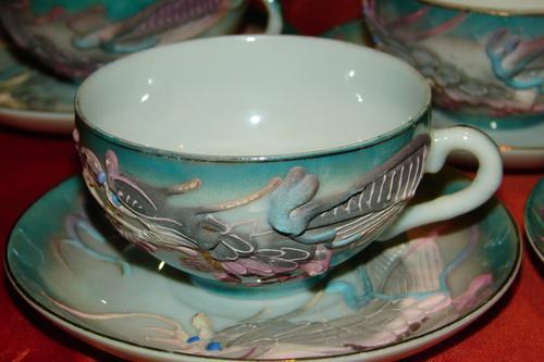 Oriental Porcelain Stunning Antique 17 Piece Japanese