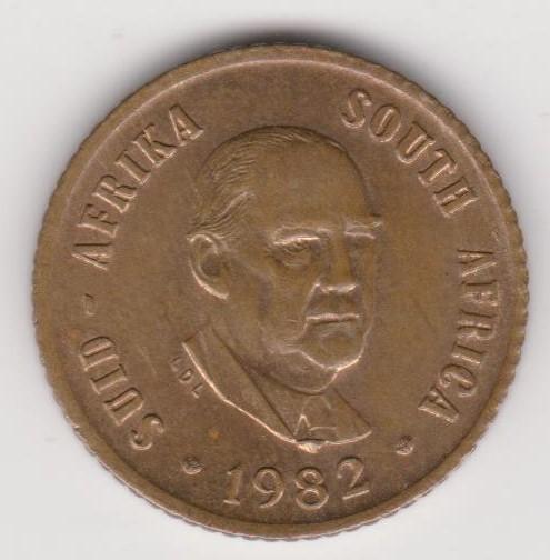 One Cent - 1982 Error coin - 1 cent - Slight off centre ...