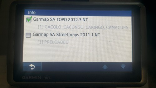 GPS Devices - Garmin Nuvi 1300 GPS was sold for R500 00 on