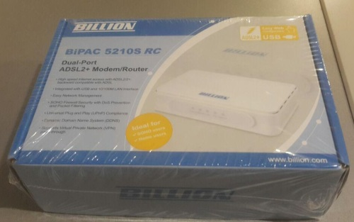 BILLION ADSL ROUTER BIPAC 5210S DRIVERS FOR WINDOWS MAC