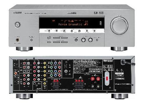 Home theatre systems yamaha rx v359 natural sound av for Yamaha yas 107bl sound bar