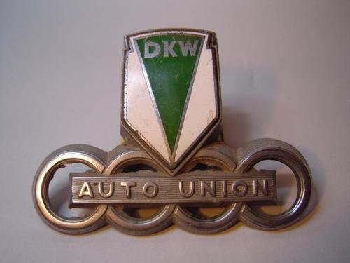decals emblems auto union dkw audi badge emblem  sold     jul