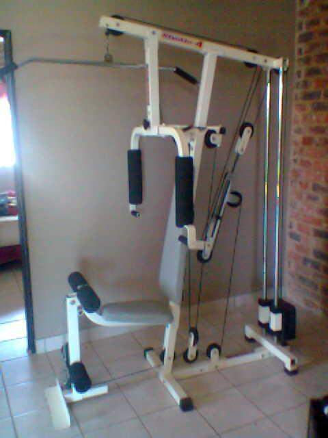 Home gyms jkexer studio multi home gym was sold for r on