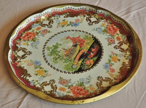 Other Kitchenalia Vintage Daher Decorated Ware Tray Made In