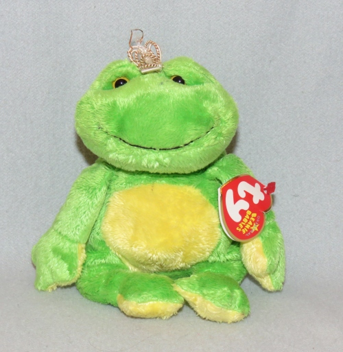 d59ec708cdd Character Toys - TY Beanie Baby Charm the Frog was listed for R45.00 ...
