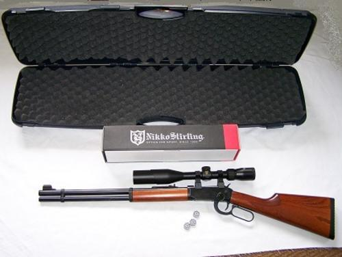 Walther Lever Action 4 5mm Co2 Pellet Rifle  Extremely rare find