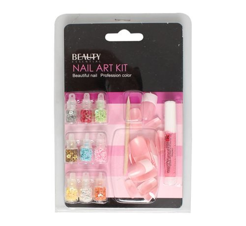 Nails Nail Art Kit Includes Nails Decor Adhesive Was Listed For