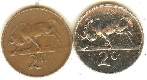 Other Republic Of South Africa Coins 1965 2 Cent Coin Van Riebeeck One Of A Kind Was