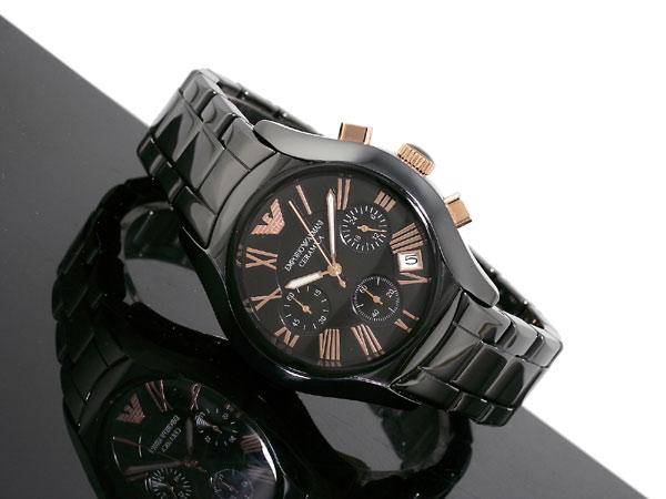 Men 39 s watches r4999 00 emporio armani ceramica chronograph ladies watch ar1411 for Ceramica chronograph
