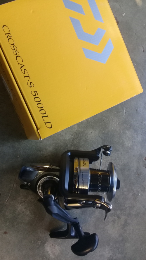 Other Fishing - daiwa crosscast s 5000ld was listed for R1,100 00 on