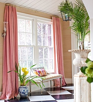 Full vs lean: How many folds or ripples should a curtain have when it is closed? Classical furniture demands heavier curtains with lots of folds, ...
