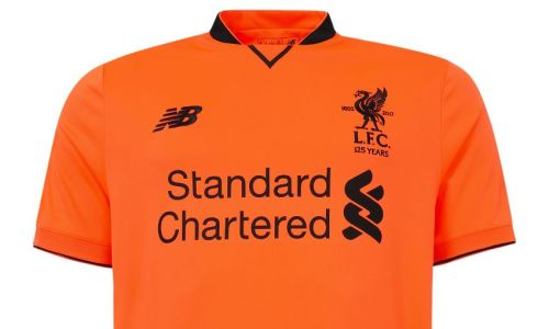 quality design a7e67 817e8 Official Liverpool Third Kit 2017/18