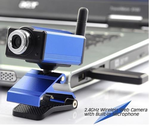Webcams 2 4ghz Wireless Webcam With Built In Microphone