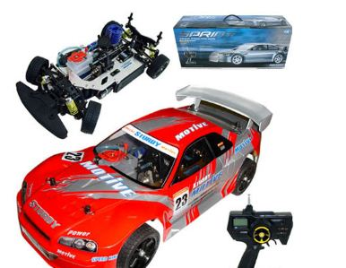cars 1 10 nitro sprint rc radio control onroad car 18cc. Black Bedroom Furniture Sets. Home Design Ideas