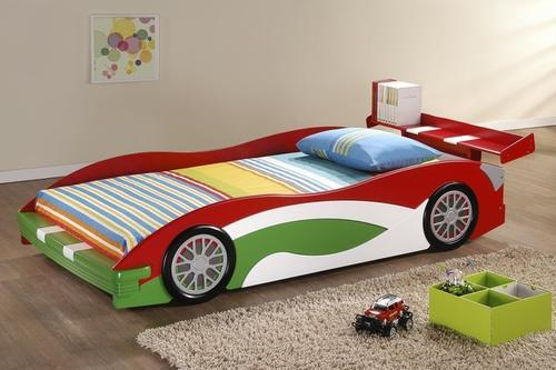 Race Car Twin Bed: Kids/Children Race Car Bed Or Pink Princess Car Bed