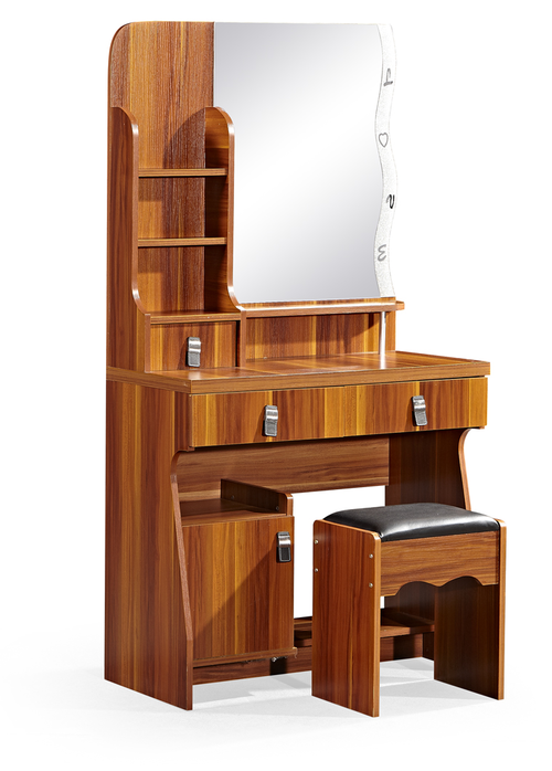 Dressing Tables - Hazlo Mirrored Dressing table with stool ...
