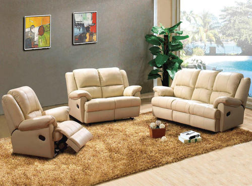 Bring a little style into the home with the luxurious 3+2+1 genuine leather upper reclining sofas in black. Along with its fabulous shape and its superb ... & Lounge Suites - 3 Piece Genuine leather recliner set (6 Seater ... islam-shia.org