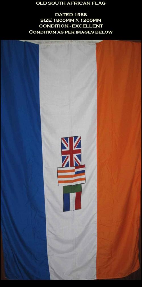 South African Army - Old South African Flag