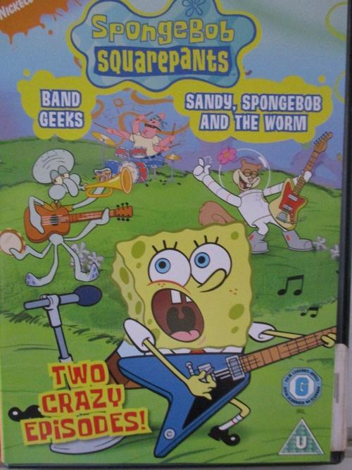 spongebob squarepants sandy spongebob worm